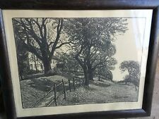 D.Wohlgemuth,DAS ALTE JUGOSCHLOSS,The Old Hunting Lodge,German charcoal?