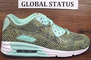 finest selection 16822 0f508 Image is loading WOMENS-NIKE-ID-AIR-MAX-LUNAR-90-SNAKESKIN-