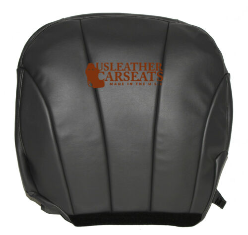 1999 2000 2001 2002 Chevy Silverado Driver Bottom Vinyl Seat Cover Dark Gray