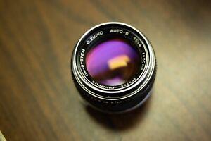 Olympus OM Zuiko Auto-S 50mm f/1.4 in OUTSTANDING condition