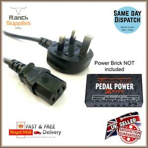 9V GUITAR EFFECTS PEDAL POWER SUPPLY ADAPTER /& 6 7 8 9 DAISY CHAIN LEAD MOOER