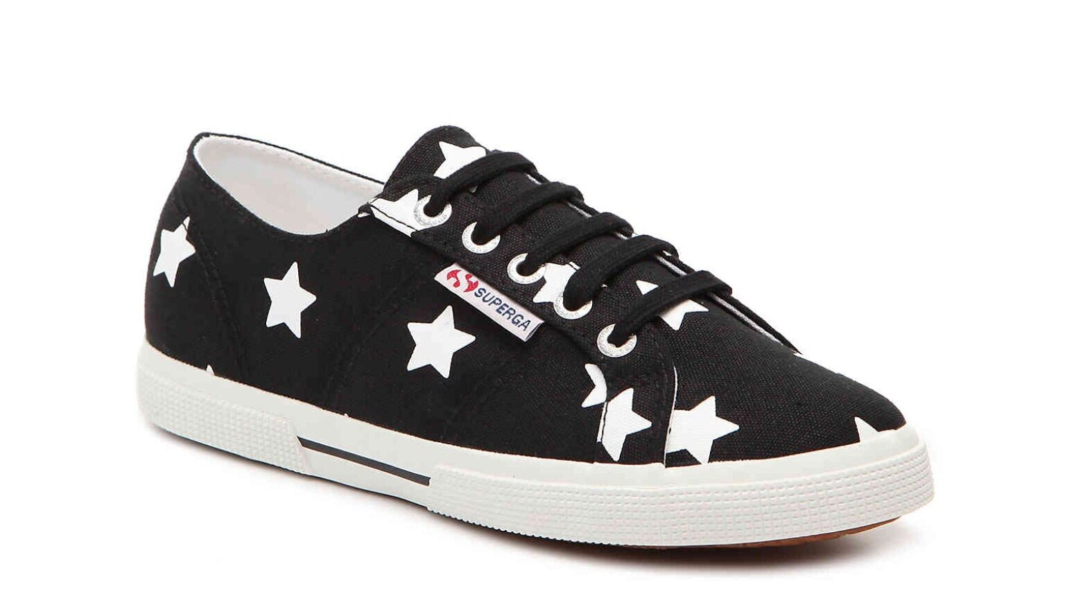 Women's Supergra Sneakers Size 6 1/2 BLACK