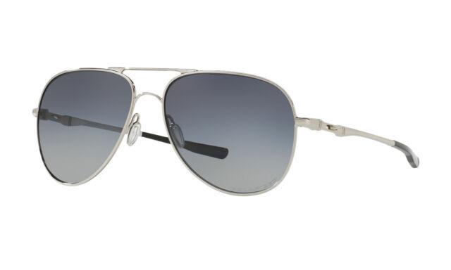 79efbb5916f Sunglasses Oakley Elmont 4119-02 60 Chrome Polarized for sale online ...