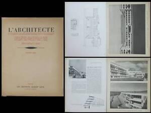 Ambitieux L'architecte 1932 Berne, Bibliotheque Nationale Suisse,hopital Waiblingen Docker Renforcement Des Nerfs Et Des Os