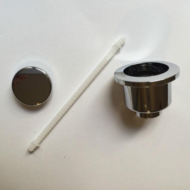 ROCA POLO VICTORIA Cistern Single Flush Top Push Button Chrome AH0001600R
