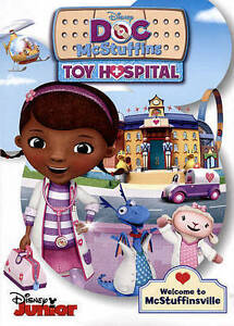 Doc-McStuffins-Toy-Hospital-DVD-2016-WITH-FREE-TOYSPONDER-BRACELET-BRAND-NEW