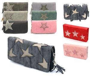 f3e1494e32472f Das Bild wird geladen Damen-Geldboerse-Stern-Geldbeutel-Brieftasche- Portemonnaie-Damenboerse-Portmonee