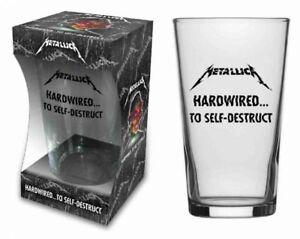 METALLICA - Hardwired Official Pint Glas in Geschenkverpac<wbr/>kung