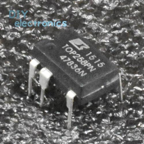 5PCS TOP258PN P258PN DIP Integrated Off-Line Switcher 7PINS US