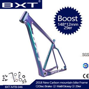 148-12mm-Mountain-Bike-Frame-29er-Frame-BSA-MTB-FRAME-29ER-BOOST-Frameset-S-M-l