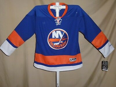 low priced ce43f a24df New York NY ISLANDERS Premier sewn REEBOK JERSEY Womens XL NWT $110 retail  | eBay