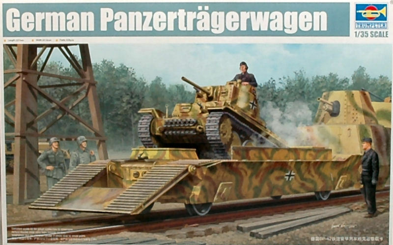 German German German Panzertragerwagen Tank Carrier Plastic Kit 1 35 Model 1508 TRUMPETER b022f3