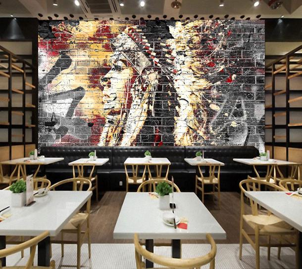 3D Midnight Canteen 75 Wall Paper Murals Wall Print Wall Wallpaper Mural AU Kyra