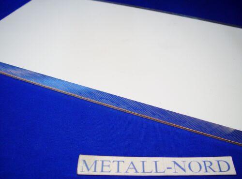 Aluminium ZUSCHNITT 400x200x20mm plangefräst m.Schutzfolie AW 5083 Aluminum CNC