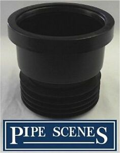 Drain adapter 4 soil pvc waste to clay cast iron for Soil not draining