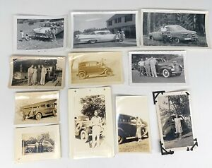 Lot-of-Rare-Old-Vintage-Car-Vehicle-Photos
