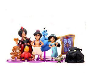 Disney Aladdin Princess Jasmine Genie Lamp Abu Jafar Lago Magic