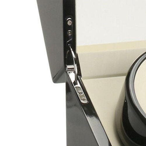Luxus Uhrenbeweger watchwinder Kubus 4+0 Uhren Automatisch Box EU Adapter Holz