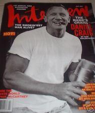 Interview Magazine July 2007 Daniel Craig Don Cheadle Matt Damon Paul McCartney