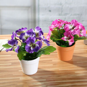 Am-1Pcs-Artificial-Flower-Pansy-Bonsai-Home-Office-Garden-Desk-Party-Decor-Myst
