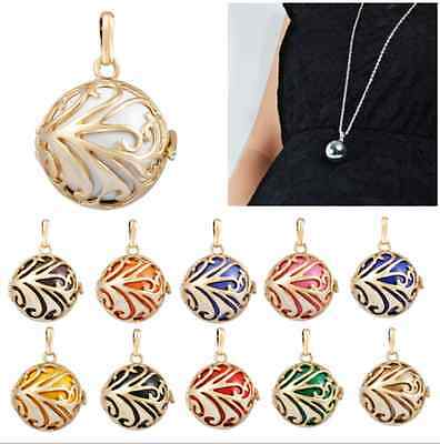 Gold Plated Cages pendant for  harmony ball chime ball Angel Sounds Ball H051