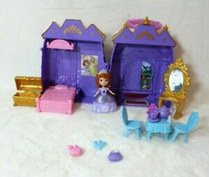 Toy Play Doll House Gift Set Disney Sofia the First Castle Carry Case Ages 3