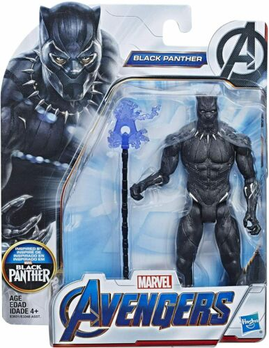 BBHAE3931 Marvel Avengers 6 inch Black Panther Action Figure Hasbro