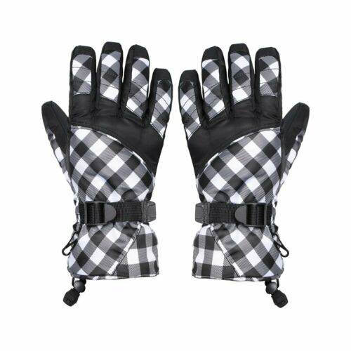 30℉ Winter Ski Gloves Warm Thermal Snowboard Snow Skate Sport Waterproof CR