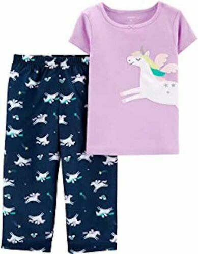 NWT Carter/'s Girls Pajamas Unicorns Pegasus rainbows stars  you pick size