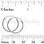 Real-Silver-Hoop-Sleeper-Earring-Pair-of-Plain-925-Sterling-Ear-Tiny-For-Men-Boy thumbnail 16