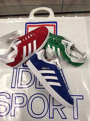 Adidas Chaussure Gazelle S76228 (Rouge) BB5477 (Vert) S76227 (Royal) BB5480   eBay
