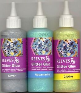 how to make glitter paint with glue