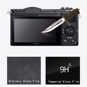 For-Sony-Alpha-A6000-A6300-A6500-Tempered-Glass-LCD-Screen-Protector-Cover-Film