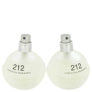 212 by Carolina Herrera 3.4 oz 100 ml EDT Spray TESTER Perfume for Women