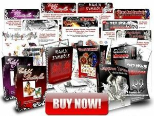 BEGINNERS TATTOO TRAINING COURSE 8 books 5 dvds job lot on ONE DISC ...