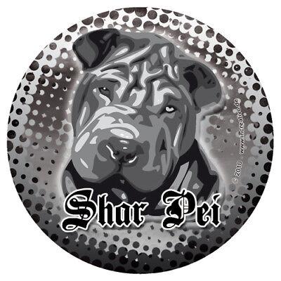 Shar Pei Faltenhund Yogi Hunde Sharpei Sticker Aufkleber - Wetterfest Dub GüNstige VerkäUfe