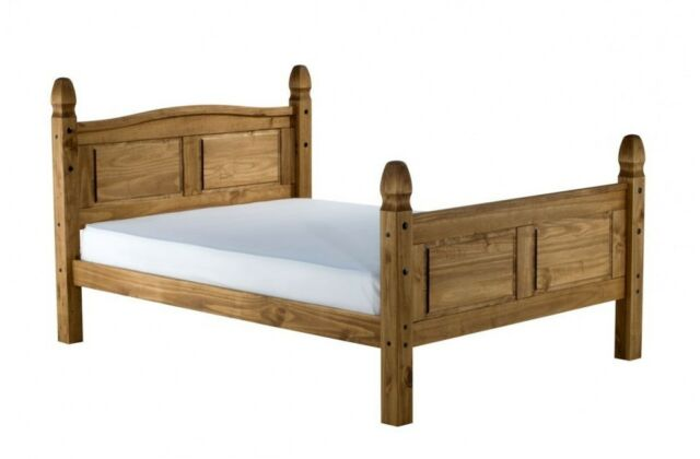 Corona 5\'0 King Size High End Bed Frame Solid Mexican Pine by ...