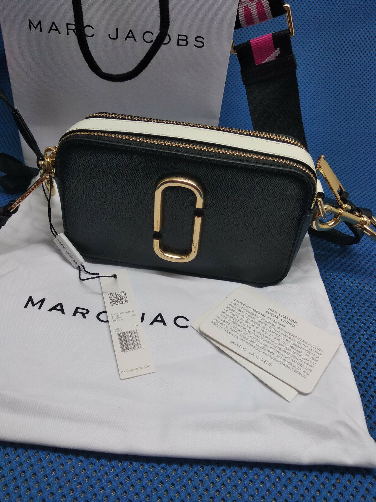 Damen Tasche Marc Jacobs Snapshot Small Camera Camera Camera - schwarz multi - Neu & Original       Qualität    Reichlich Und Pünktliche Lieferung    Outlet Store  fe2f7b