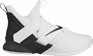 uk availability 79a0b aa7f6 Details about Nike Lebron Soldier 12 XII TB White/Black Oreo SVSM 2018 All  New Mens Basketball