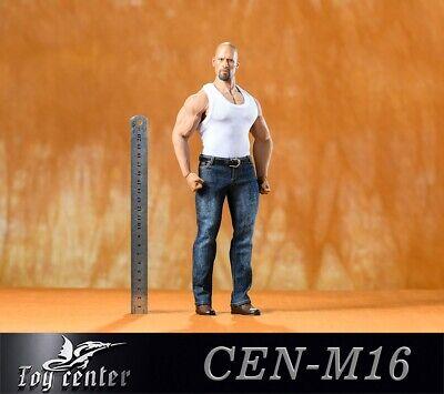"""Toy Center 1:6 CEN-M14 Vest Pants Clothes F 12/"""" Male TBL PH Action Figure Body"""