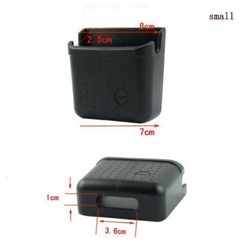 Car Storage Box Universal Auto Phone Charge Holder Pouch Home Organizer Bags #HA