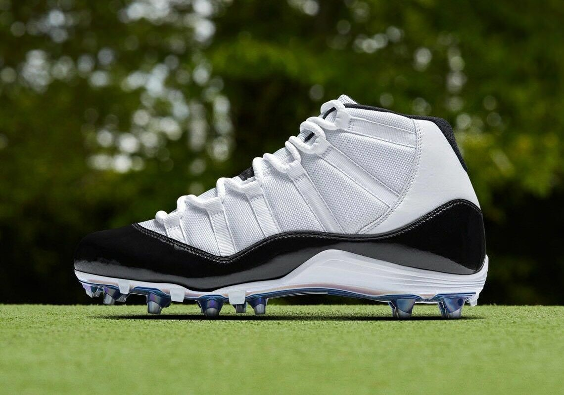 Brand New   Jordan Retro 11 Cleats    Concord TD   Size 12
