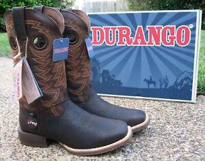 NEW Mens Durango Rebel Pro Brown