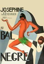 JOSEPHINE BAKER JAZZ AGE PARIS NIGHT CLUB POSTER A3 REPRINT
