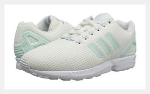 adidas originals women s zx flux size 8 5 white new nib mesh running rh ebay com