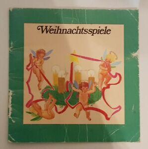 Weihnachtsspiele Heft Büchlein 1980 Rate Zeichen Schreib und Gedächtnisspiele