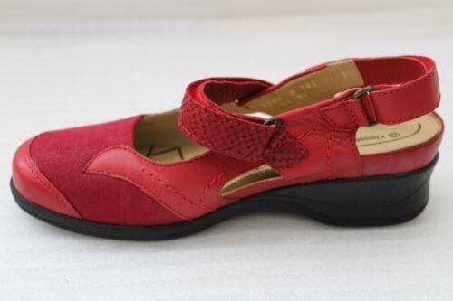 Emily Classicwalker Klettverschluss Rot 5 Absatz 38 Schuh Größe Cm Dauomo 4 PSRgw7