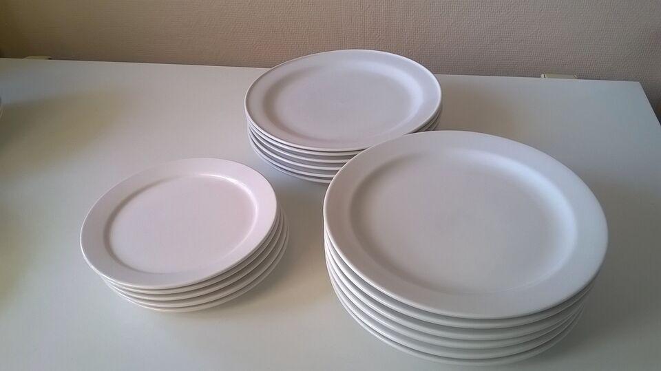 Porcelæn, tallerkener, Romania + ukendt mærke