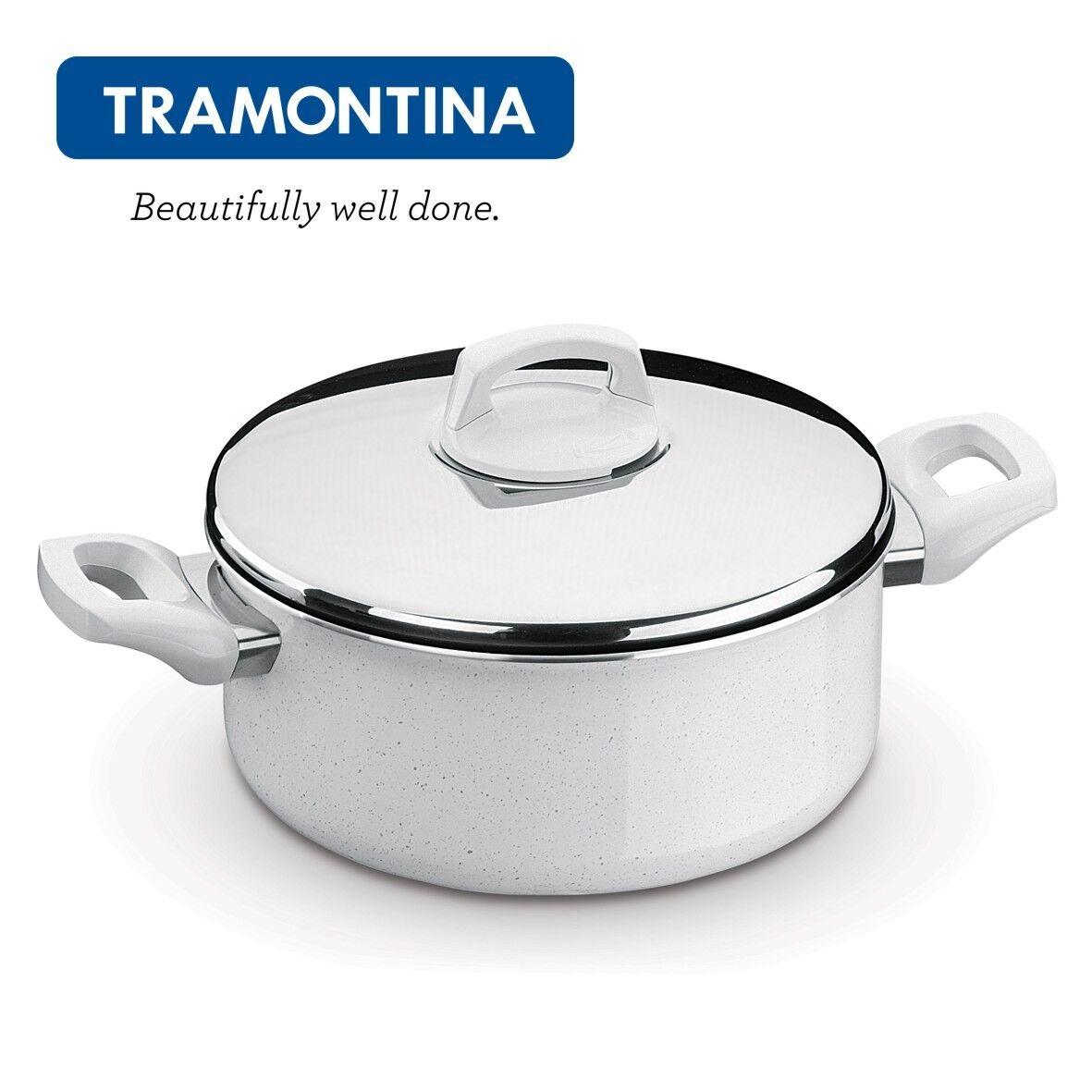 Tramontina Aluminium Antiadhésif casserole Casserole avec couvercle 24 cm Montreal 20720824