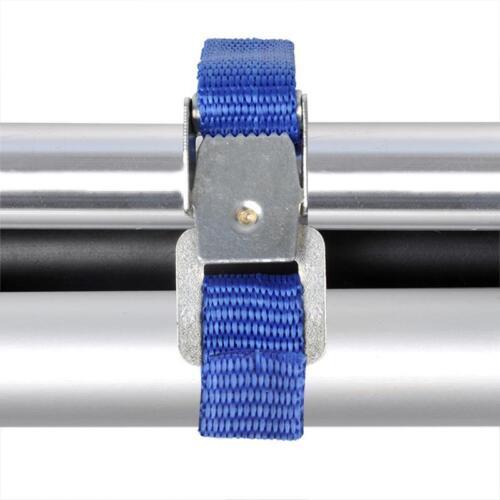 8X Cinturón Correa de Sujeción para Portabicicletas Banda Cinturones 400 X 15mm